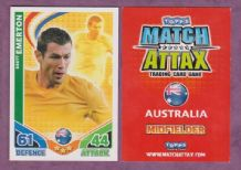 Australia Brett Emerton Blackburn Rovers 18